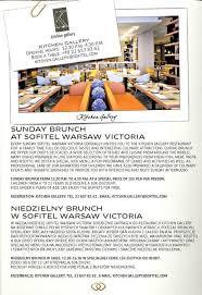 Sofitel Buffet Price by Kitchen Gallery Hotel Sofitel Warsaw Victoria Menu Gastronauci
