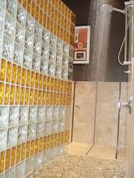 splendid glass block walls 3 glass block bathroom wall ideas