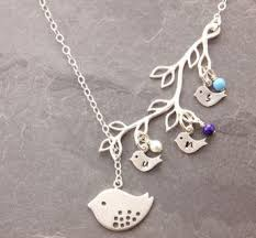 children s birthstone necklace for inspiring idea children s birthstone necklace for infinity in