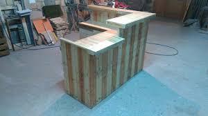 Build A Reception Desk Plans by Beautiful Diy Reception Desk 13 Amazing Wood Pallet Reception Desk
