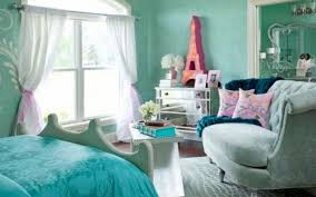 teens room beautiful turquoise girls bedroom design with white