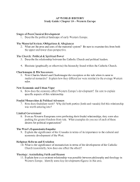 ap world history study guide chapter 10 u2013 western europe