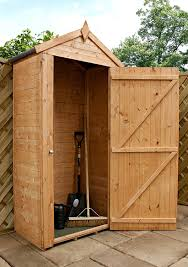 sentry 3 5ft w x 2ft d wooden tool shed amazon co uk garden