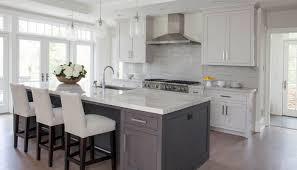 White And Grey Kitchen Ideas White Grey Kitchen Kitchen Cabinets Remodeling Net