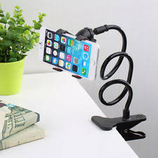 Iphone Holder For Desk by 360 Rotating Flexible Universal Lazy Phone Stand Clamp Car Bed