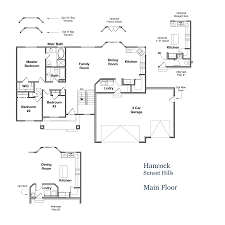 us homes floor plans floor plans hancock sunset hills liberty homes