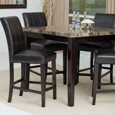 5 dining room sets dining room 5 black dining room set with marble top dining