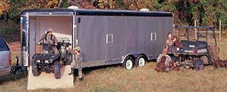 interstate enclosed cargo trailers snow sports car haulers