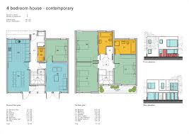 4 bed floor plans modular housing projects build eco