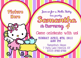 kitty party invitation templates image collections wedding