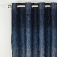 window sheer curtains at linen chest