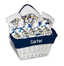nashville gift baskets personalized nashville predators large gift basket mlb baby gift