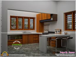 modern house elevation with interior renderings kerala home