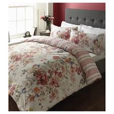 Tesco Bedding Duvet Buy Winter Rose Floral Double Duvet Set From Our Double Duvet