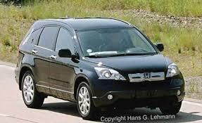 2007 crv honda 2007 honda cr v spied car and driver
