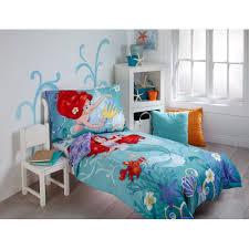 Cars Toddler Bedroom Set Disney Ariel Key To The Sea 4 Piece Toddler Bedding Set Walmart Com