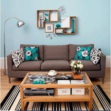 Alwinton Corner Sofa Handmade Fabric Cream Living Rooms Teal - Teal living room decorating ideas