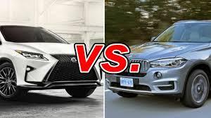 lexus vs lexus rx 350 vs bmw x5 carsdirect