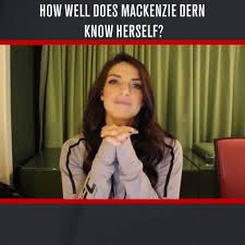 Mackenzie Meme - ufc on twitter how well does mackenziedern know mackenzie dern