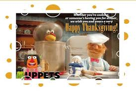 happy thanksgiving from the newest princess muppet me
