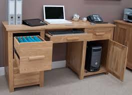 computer desk modern opus solid oak large computer desk furniture4yourhome