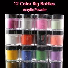 aliexpress com buy 10g wholesale 12 color nail art acrylic