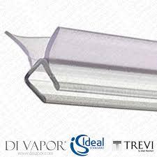 vertical shower door seals shower seals spares