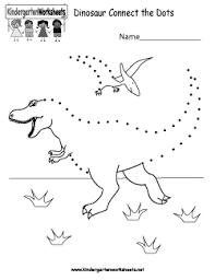 free kindergarten dinosaur worksheets using dinosaurs as fun