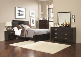 Coaster Furniture Bedroom Sets by Palmetto 203551 Bedroom 5pc Set Cappuccino By Coaster W Options