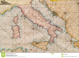 Map Of Croatia And Italy by Old Map Of Italy Sicily Corsica Croatia And Sardinia Stock