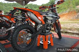 ktm motocross bikes 2017 ktm motocross bike range launched in malaysia u2013 six models