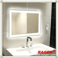 illuminated mirror bathroom cabinets fog free led lighting wall