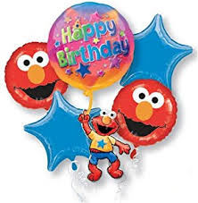 elmo birthday anagram elmo birthday balloon bouquet multi 1 toys
