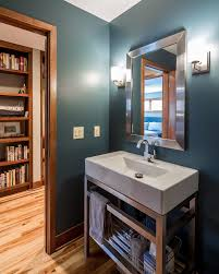 powder room sinks and vanities bathroom sink vanity powder room contemporary with doorway hallway