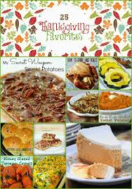 25 thanksgiving favorites recipes bargainbriana