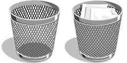 telecharger corbeille de bureau icônes de corbeille windows à télécharger poubelle en métal png ico