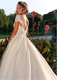 a line wedding dresses buy discount delicate tulle scoop neckline a line wedding dress