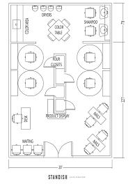 beauty salon floor plans design u2013 gurus floor