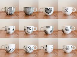 decorate your own tea cup the sharpie mug tried and tested method s or