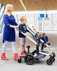 passeggino con pedana secondo bimbo lascal pedana maxi per passeggino rosso universale e