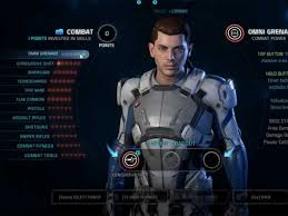 mass effect andromeda all skills training and profiles