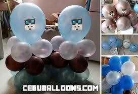diamond party supplies minecraft cebu balloons and party supplies