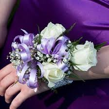 corsage and boutonniere prices mini roses with lavender ribbon prom corsage prom123 prom123