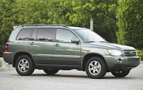 toyota highlander length 2006 toyota highlander dimension specs view manufacturer details