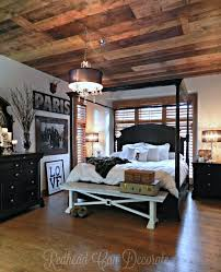 How To Decorate Master Bedroom 25 Best Wood Plank Ceiling Ideas On Pinterest Plank Ceiling