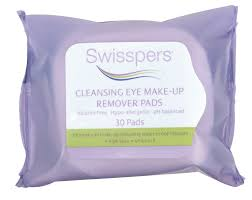 swisspers cleansing makeup remover pads for eyes reviews