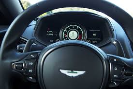 aston martin steering wheel 2018 aston martin db11 v8 review autoguide com news