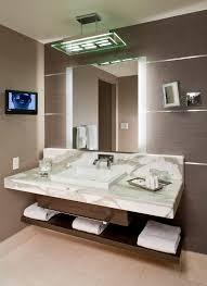 Retractable Mirror Bathroom Bathrooms Design Lighted Bathroom Mirror Wall Mount Lighted
