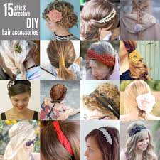 diy 15 chic and creative hair accessories to make thefashionspot