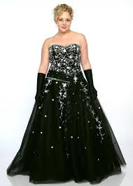 fashion trends formal dresses plus size mixed with strapless top